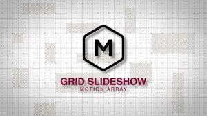 پروژه آماده افتر افکت -> اسلایدشو Grid Slideshow