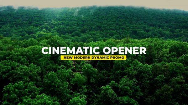 تصویر ٰدانلود پروژه آماده پریمیر - اسلایدشو Dynamic Cinematic Promo
