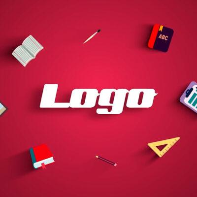 تصویر دانلود پروژه آماده پریمیر - لوگو School Logo Reveal