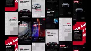 دانلود پروژه آماده افترافکت – استوری اینستاگرام Auto Stories