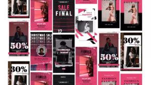 دانلود پروژه آماده افترافکت – استوری اینستاگرام Fashion Sale Stories