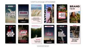 دانلود پروژه آماده افترافکت – استوری اینستاگرام Instagram Stories
