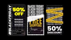 دانلود پروژه آماده افترافکت – استوری اینستاگرام Limited Edition Sale